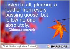 Motivational Quote by Chinese proverb