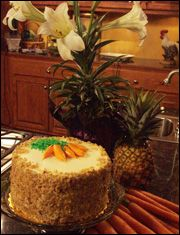 Chef John Folse's Carrot Cake--my favorite carrot cake recipe by far!