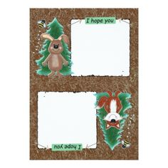 Woodland Forest Animals Baby Advice Cards II - invitations personalize custom special event invitation idea style party card cards