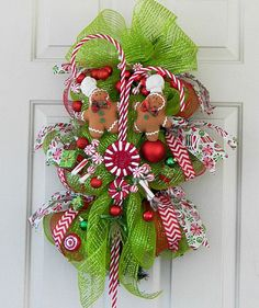 ... Holiday Ornaments, Chevron Ribbon, Indoor Outdoor Christmas Decoration
