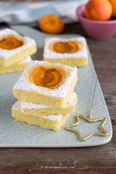 Torta soffice con albicocche | dolci facili | Chiarapassion