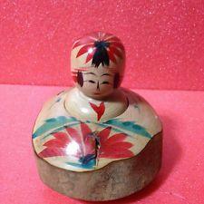 Japanese doll KOKESHI - Togatta - Ikari Katsuhiko - 9cms Ejiko Rare TYPE EX-