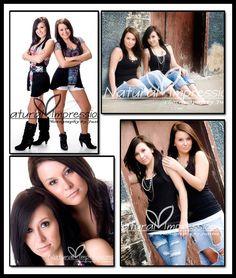 senior pictures twins   Senior Twin Girls - Dickinson ND Senior PHotos