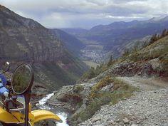 Telluride from Black Bear Pass