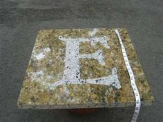 Ideas For Granite Pieces Trash To Treasure Forum Gardenweb