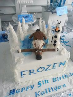 Frozen Princess themed birthday party Full of Really Cute Ideas via Kara's Party Ideas! full of decorating ideas, dessert, cake, cupcakes, f...