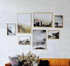 Gallery Wall, Frame, House, Home Decor, Photo Art, Picture Frame, Decoration Home, Home, Room Decor