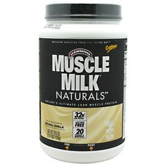 CytoSport Muscle Milk Vanilla Creme - 2.48 lb (1125 g) #fitness #healthy #health #sports #fitnessmodel #gym
