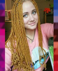 , Box Braids On White Girls, White Girl Braids, Beauty, White Girls ...
