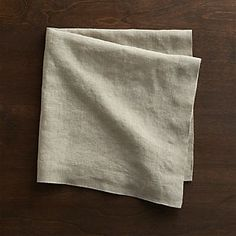 Helena Dark Natural Linen Napkin - 2015-01