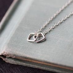 conmigo | silver geometric necklace by elephantine