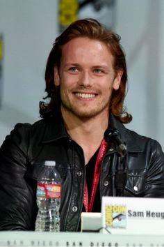 Sam Heughan, Outlander, What a smile
