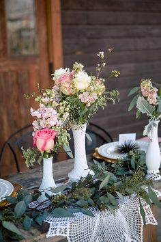 Romantic Rustic Wedding Inspiration Featured On Midwest Bride