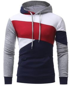 T-Bird Brand 2017 Fashion Hoodies Mens Stitching Sweatshirt Male Slim Fit Hoody Hip Hop Moletom Masculino Hoodie Mens Pullover