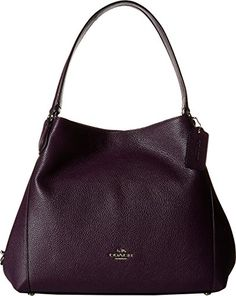 COACH Women s Refined Pebble Leather Edie 31 Shoulder Bag... https    9b3e9626f4260