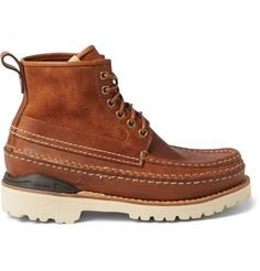 VISVIM Grizzly Mid-Folk Leather Boots. #visvim #shoes #boots