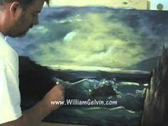 William Gelvin oil paints sea scape PART 2 of 2