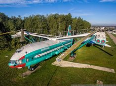 Central Air Force Museum in Monino bird's-eye view - English Russia Russian Military Aircraft, Military Helicopter, Air Fighter, Fighter Jets, Flying Vehicles, Private Plane, Experimental Aircraft, Aircraft Design, Emergency Vehicles