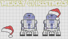 Pattern made by me, original image not mine.  Link to original image can be found on the pattern. Cross Stitch Designs, Cross Stitch Charts, Cross Stitch Embroidery, Cross Stitch Patterns, Cross Stitching, Stitch Cartoon, Christmas Cross, Star Wars Christmas, Merry Christmas