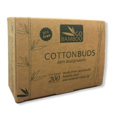 Cotton Buds 200 PACK Go Bamboo's Cotton Buds are an essential item for any well stocked bathroom cupboard. Eye Makeup Remover, Biodegradable Products, Bud, Cupboard, Bamboo, How To Apply, Packing, Bathroom, Cotton