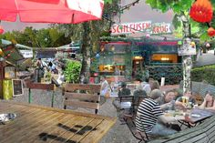 Schleusenkrug - Biergarten am Berliner Tiergarten