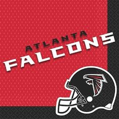 Atlanta Falcons Dinner or Lunch Napkins, 16 Count, 2-Ply $4.50