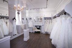 Welcome inside our Bridal Boutique. Step inside to a white wonderland. Come in and try one some of the most beautiful dresses we've ever seen!