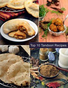 Top 10 Tandoor Recipes, Make at Home Veg Tandoori Recipes   TarlaDalal.com   #133