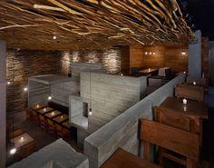 Image detail for -The Pio-Pio Restaurant Concrete Wall Design | Luxury Lifestyle Blog
