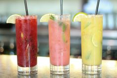 Prefer fruitier cocktails? Stop by MoJoe Lounge for their selection of rainbow mojitos. Each color corresponds to a duo of fruits – all made...