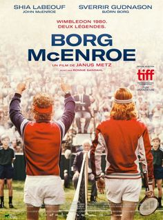 Borg V. McEnroe new original movie poster.