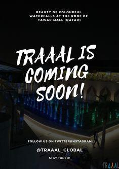 Beauty of Colorful Waterfalls at the Roof Top of Tawar Mall (^_^)   #tawarmall  #qatar  #nightlife  #night  #tourism  #tour  #travel  #traveling  #doha  #almarkhiya  #nature  #colors  #lights  #waters  #beautiful  #startups  #followus  #arab  #middleeast