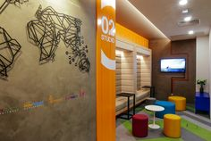 AJM Interiors recently completed the offices for recruitment agency Interisland Manpower, located in Kuala Lumpur, Malaysia. Interisland Manpower PTE LTD Recruitment Agencies, Kuala Lumpur, Office Interiors, Downlights, Interior Design Inspiration, The Office, Offices, Architecture, Office Designs