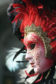 Venetian Mask #monogramsvacation
