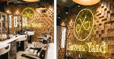 Barber Shop Design for Cutters yard