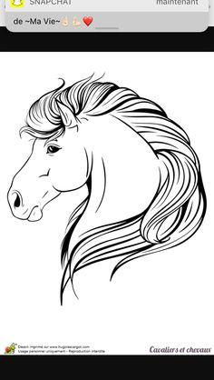 15 Meilleures Images Du Tableau Dessin Tete De Cheval Horse Head