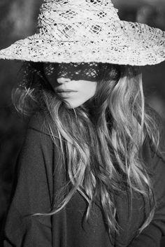 Beach hat.