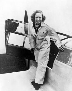 """BERYL MARKHAM hunted gazelles in Africa at the age of 7, trained and raced horses, and became the first person to fly solo across the Atlantic. Hemingway said that she """"has written so well, and marvelously well, that I was completely ashamed of myself as a writer."""" #history #adelinewoman #womancan"""