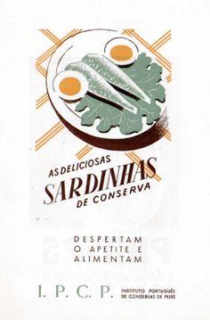 anúncio conservas sardinhas
