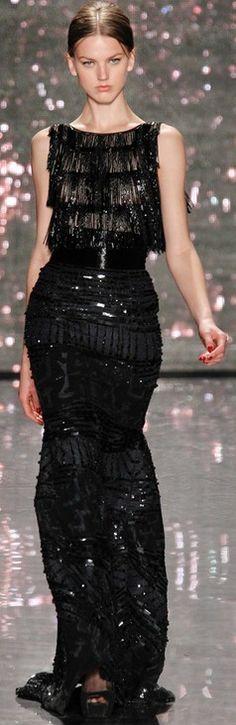 Rosamaria G Frangini | High Chic Fashion | Naeem Khan