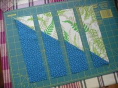 Shortcut block / buzz saw square pieces: good tutorial to make the block quickly--and be sure to follow the link on the web page to see 'inspiration photos' of quilts made of buzz saw blocks! Some of my favorites of the photos are scrappy ones.