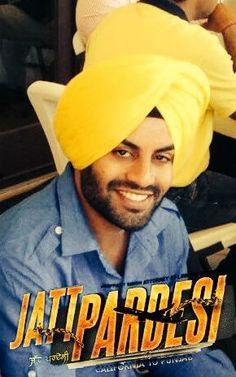 Aman Dhaliwal in a movie scene in up coming Punjabi movie #JattPardesi releasing soon