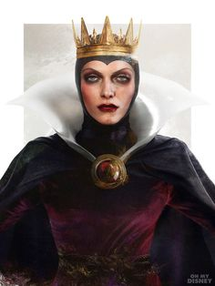 …to an icy royal with a stone-cold stare of fright. | This Is What Disney Villains Would Look Like In Real Life