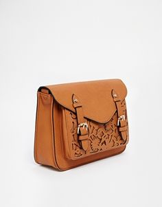 Enlarge ASOS Floral Laser Cut Satchel Bag
