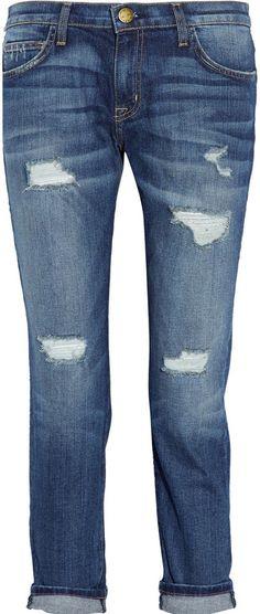 Current/Elliott The Fling mid-rise boyfriend jeans