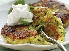 Fritters on Pinterest | Buffalo Chicken Quinoa, Zucchini Fritters and ...