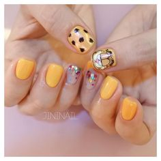 Garfield nails inspo