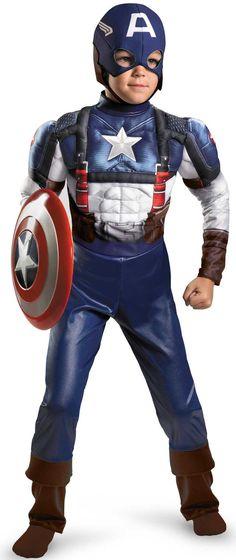 Superhero Costumes | Home >> Superhero Costumes >> Captain America Costumes >> Captain ...