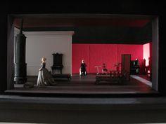 Hedda Gabler, Rosamund Pike Bath Theatre Royal Designer Anthony Ward