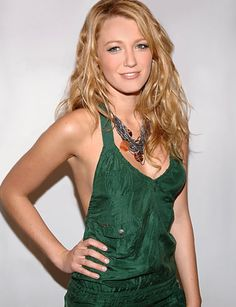 Blake Lively- so pretty! Hair and makeup